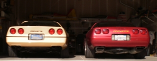 1985 and 1995 coupes